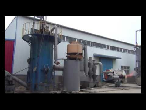 coconut shell gasification and coconut charcoal