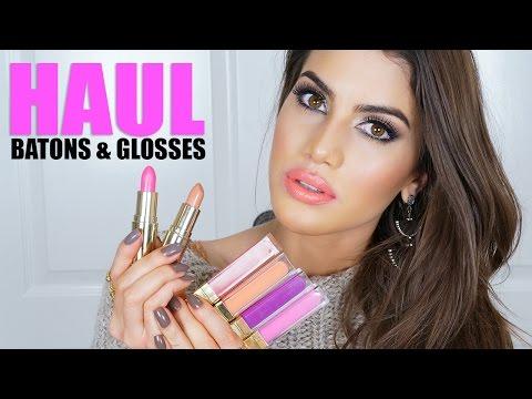NOVOS batons e glosses by Gerard Cosmetics!