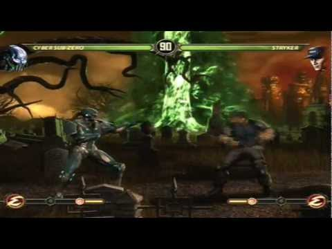 Mortal Kombat 9 - Cyber Sub-Zero (Arcade Ladder) [Expert] No Matches/Rounds Lost