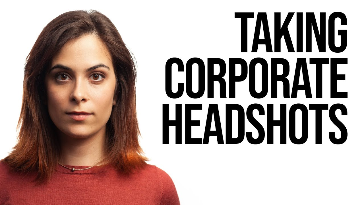How to Shoot Corporate Headshot Photography