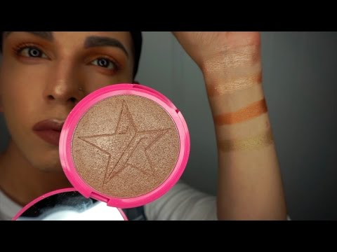JEFFREE STAR SIBERIAN GOLD DEMO   REVIEW   SWATCHES   COMPARISON
