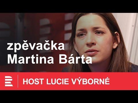 Lesní roh nechám doma, říká Martina Bárta, která reprezentuje Česko na Eurovizi
