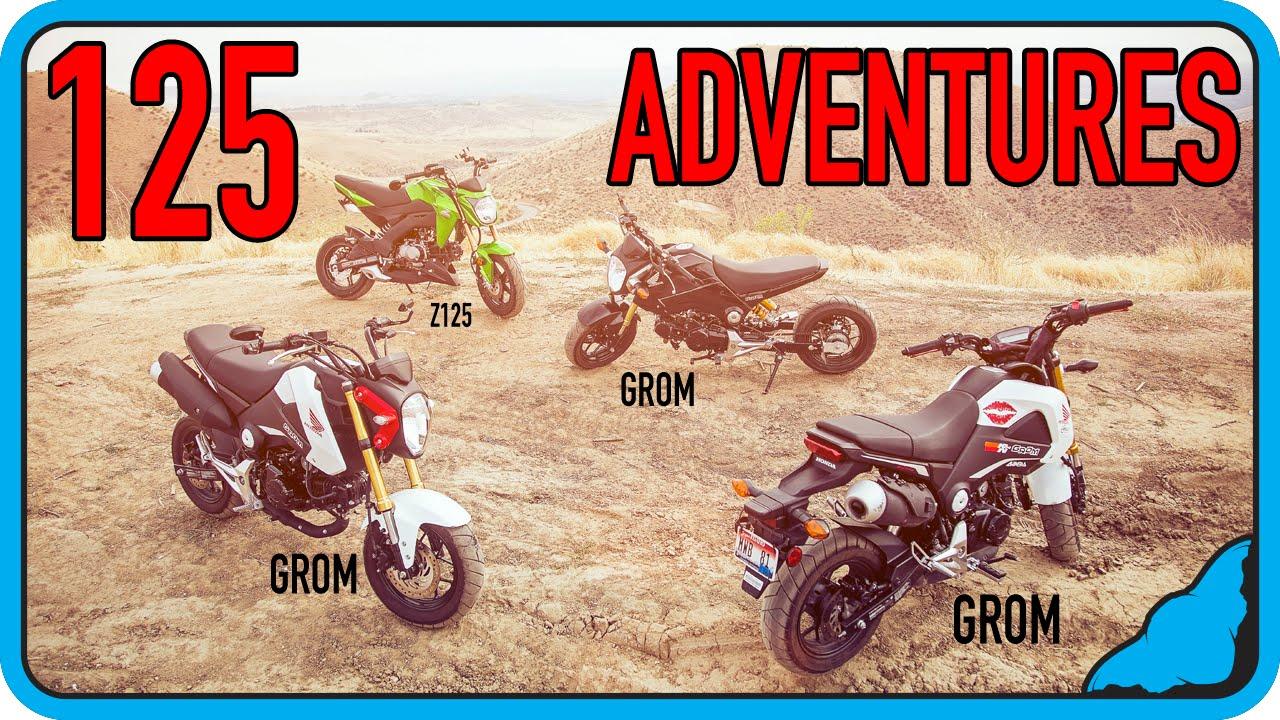 125 Adventures (Groms + Z125)