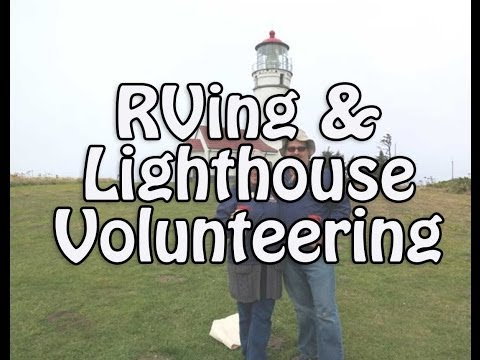 Tour of Cape Blanco Lighthouse and RV Volunteer Hosting (Sept 2013)