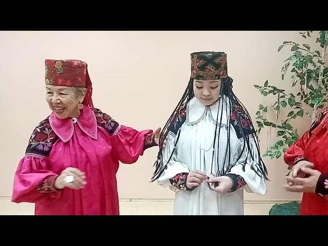 Онлайн-урок-3: «Таинство плетения хакасских кос» в рамках акции «Народная культура для школьников»