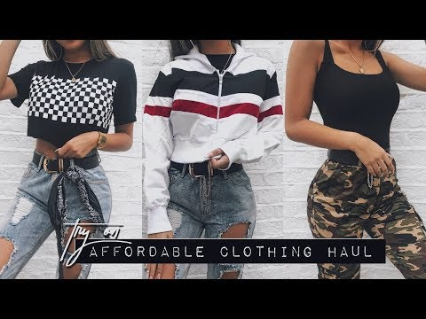 AFFORDABLE TRY ON CLOTHING HAUL