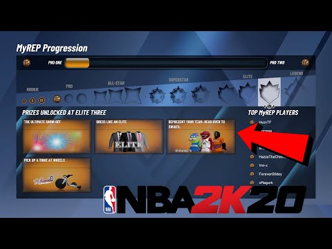 NBA 2K20 PARK REWARDS EVERY MYPARK REWARD AND REP FOR NBA 2K20 NEW REWARDS HOW TO GET MASCOT FAST 2K