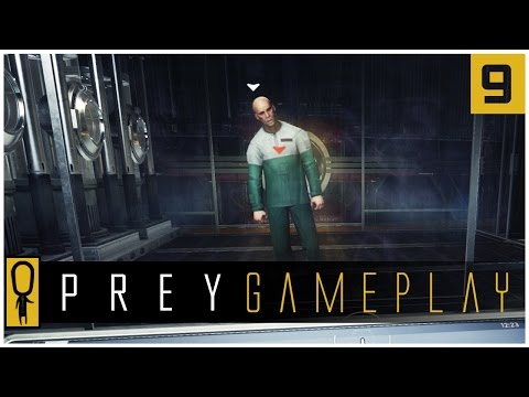 Let's Play PREY Gameplay Part 9 - THE MORGUE AND AARON INGRAM - Walkthrough