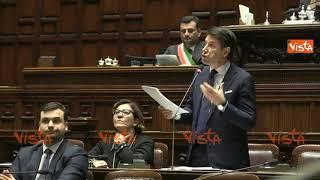 (Agenzia Vista) Roma, 23 febbraio 2019 22-02-19 Conte in aula Camer...