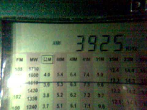 3925 KHz RADIO NIKKEI 1 50 KW from Chiba-Nagara 2012 12 08