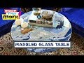 How to: Marbled Glass Table