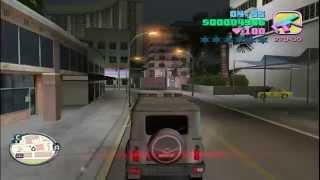Spider - Man катается на УАЗике по Vice City
