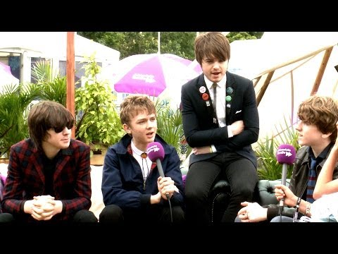 The Strypes Interview - Isle of Wight Festival 2014