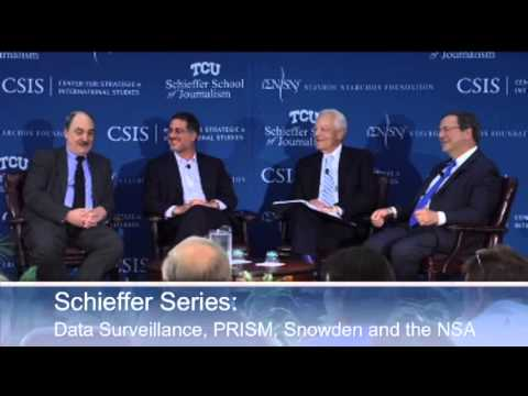 Schieffer Series: A Discussion Of Data Surveillance, PRISM, Snowden And The NSA