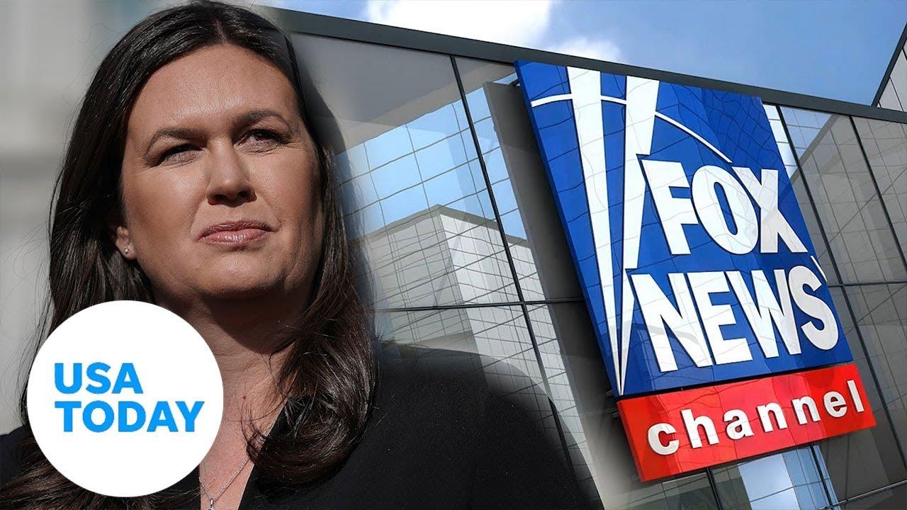 Sarah Sanders jumps onboard Fox News | USA TODAY