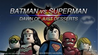 LEGO Batman vs Superman 2: Dawn of Just Desserts