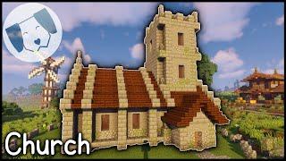 minecraft church medieval tutorial
