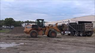 Loading and Dumping Gravel