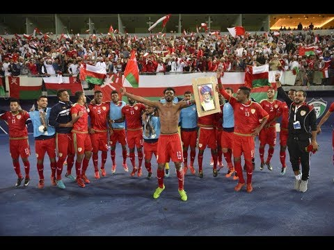 Oman Fans Celebration at Muscat Streets Oman vs UAE Gulf Cup