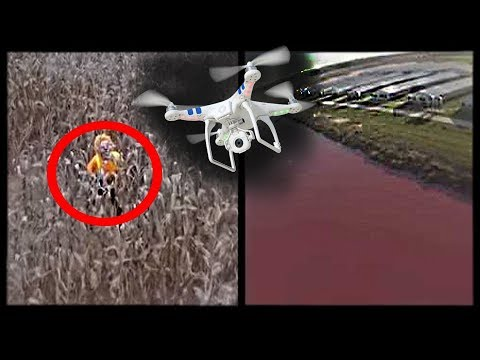 Top 5 Scariest & Most Intriguing Videos Captured by DRONES