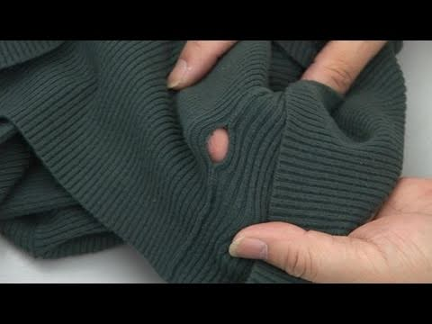 How To Sew A Torn Seam