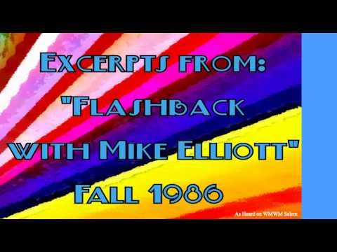 "Excerpts from WMWM's ""Flashback with Mike Elliott"" -Fall 1986"