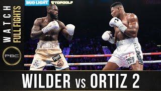 Wilder vs Ortiz 2 Full Fight: November 23, 2019