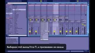 Access Virus Ti,Snow & Ableton 9
