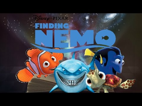 The ghost light fish story book by disney story time for Nemo light fish