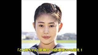 女優の高畑充希(24)がヒロインを務めるNHK連続テレビ小説「とと姉ちゃん」(月~土曜前8・00)の第70話が23日に放送され、平均視聴率は23・8%(ビデオリサーチ ...