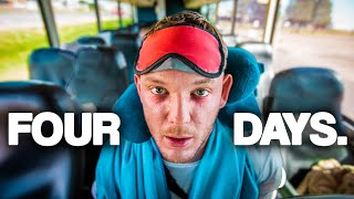 We survived the longest bus journey in the USA (100 Hour Challenge with Yes Theory)