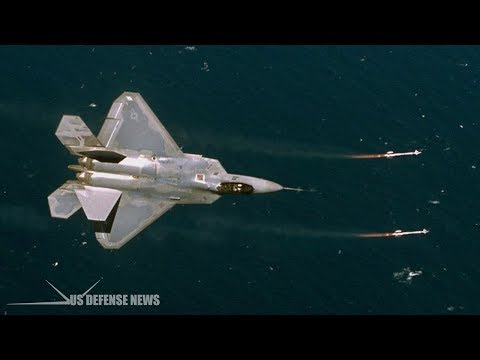Here's How an F-22 Raptor Flew under the Iranian Fighter Jet and Told Him to go Home