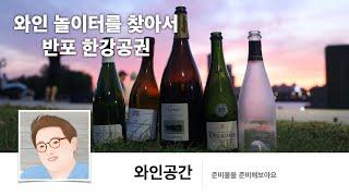 [와인과 공간] 반포 한강공원에서 와인마시기