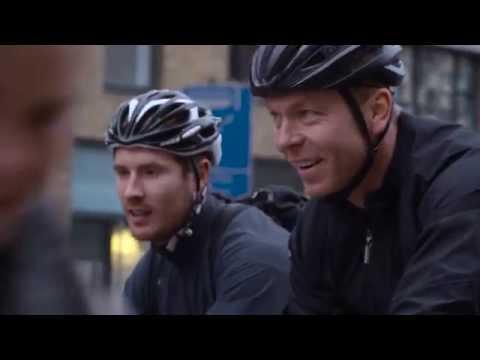 Sir Chris Hoy pranks London commuters