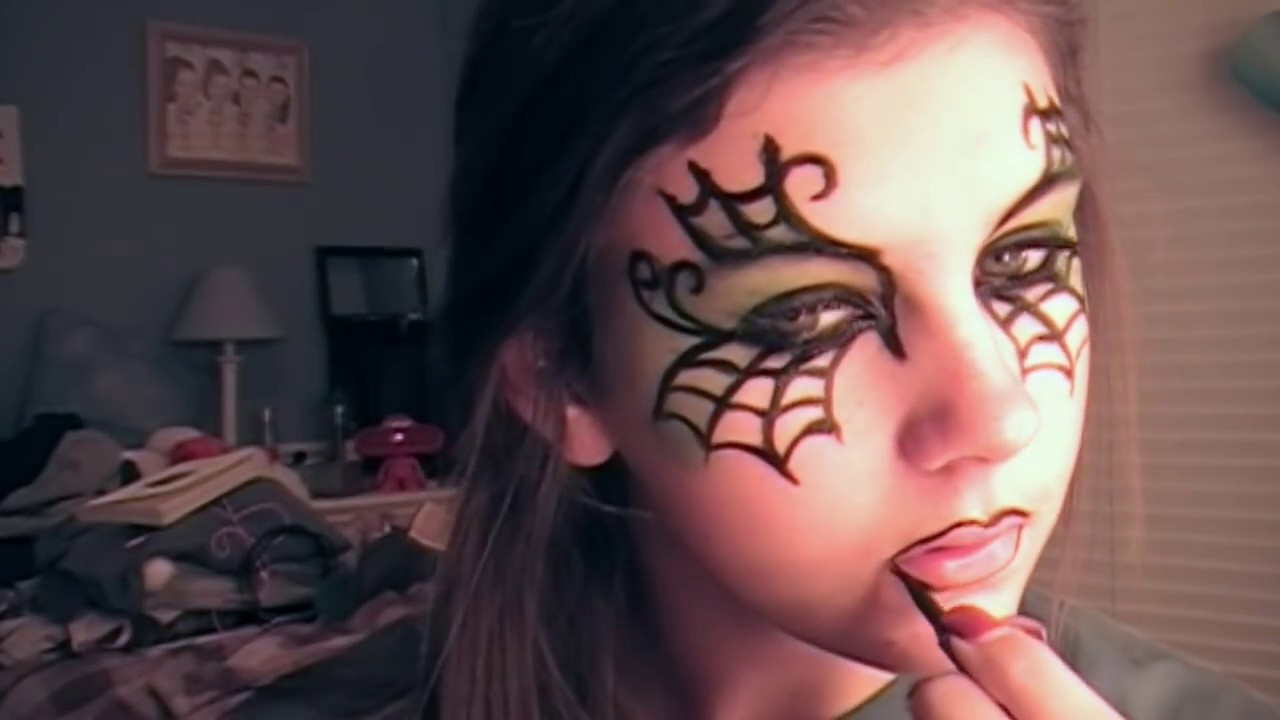 CUTE EASY WITCH MAKEUP TUTORIAL - YouTube