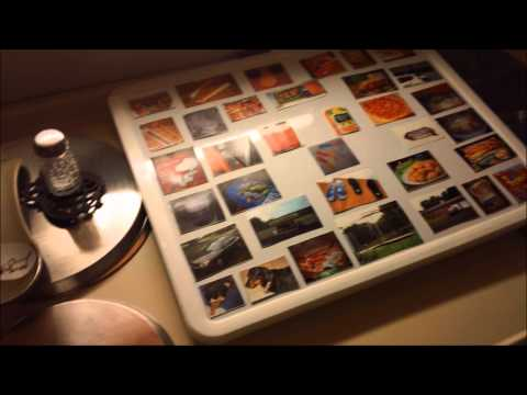 My Autistic Son's Updated Magnetic Picture Communication Board Video