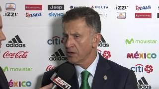 Juan Carlos Osorio explica las rotaciones en la Selección