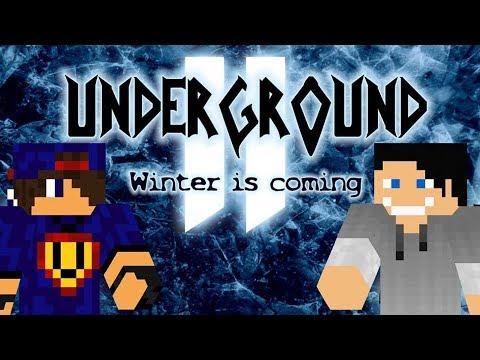 Minecraft: Underground 2 - Winter is Coming #24 Rozbudowa wioski w/ Undecided