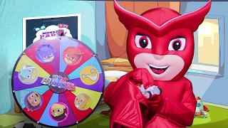 The PJ Masks Luna Girl Game with Secret Life of Pets, Paw Patrol, Peppa Pig & Frozen Movie