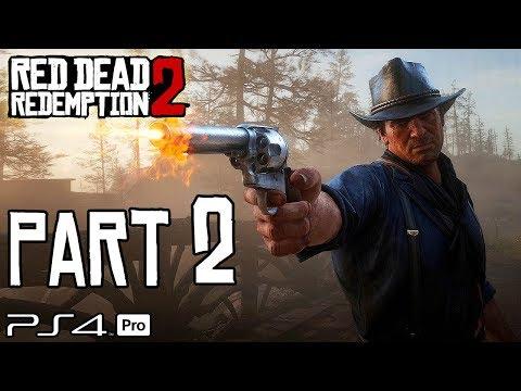 RED DEAD REDEMPTION 2 Walkthrough PART 2 (PS4 Pro) No Commentary @ 1440p HD ✔
