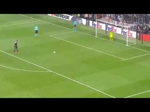 Beşiktaş lyon maç özeti 3-3 golleri penaltı atışları  ( 6-7 )   20.04.2017