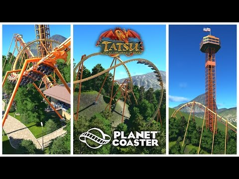 Planet Coaster: Tatsu - Six Flags Magic Mountain (Recreation)