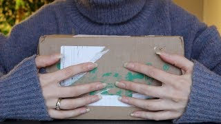 ASMR Unboxing iHerb Products | Tapping, Scratching, Crinkle (No Talking)