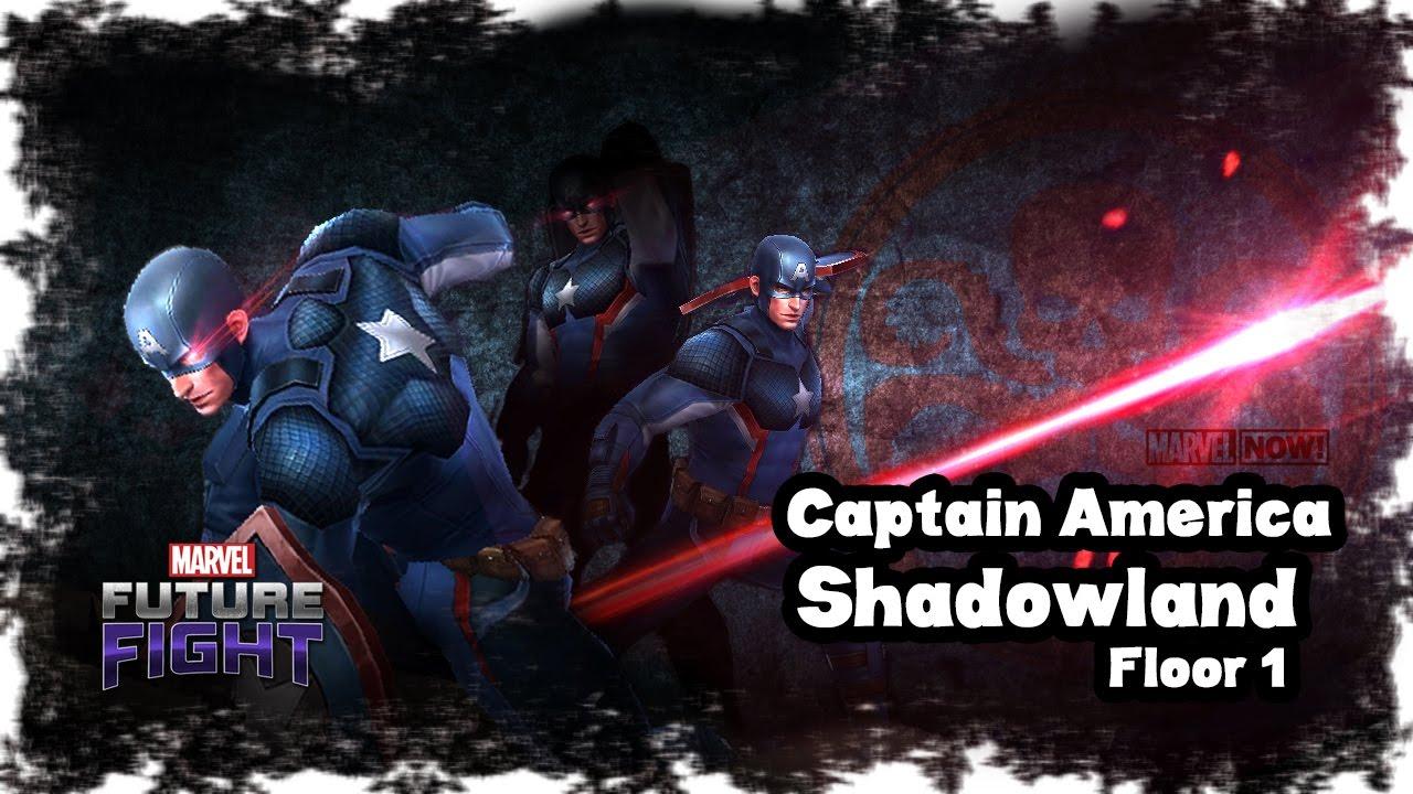 Marvel Future Fight Captain America Hail Hydra