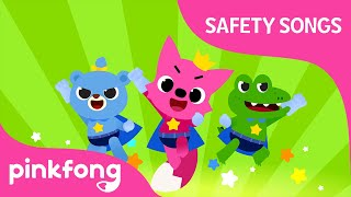 All Around Safety Song   Pinkfong Rangers Safety Songs   Pinkfong Songs for Children