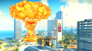 Nuking A City With A Stolen Missile in Just Cause 4