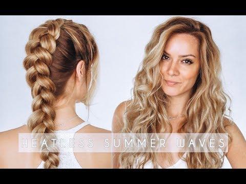 Heatless Summer Waves Hair Tutorial   Dutch Braid Hair Tutorial   Shonagh Scott   ShowMe MakeUp