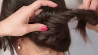 Прически для длинных волос в домашних условиях для средних, длинных волос на каждый день