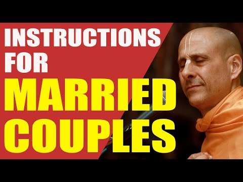 ROLES AND RESPONSIBILITIES OF A HUSBAND AND WIFE IN GRHASTHA ASHRAM | HH RADHANATH SWAMI