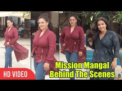 gorgeous-nitya-menon-spotted-at-juhu-|-#missionmangal-behind-the-scenes-|-vidya-balan,-taapsee-pannu